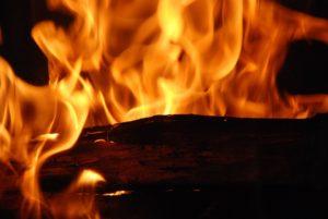 feu bois de chauffage