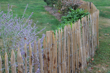 Ganivelles wood stere