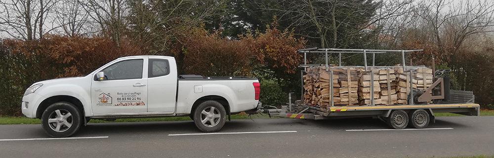 Livraison wood stere